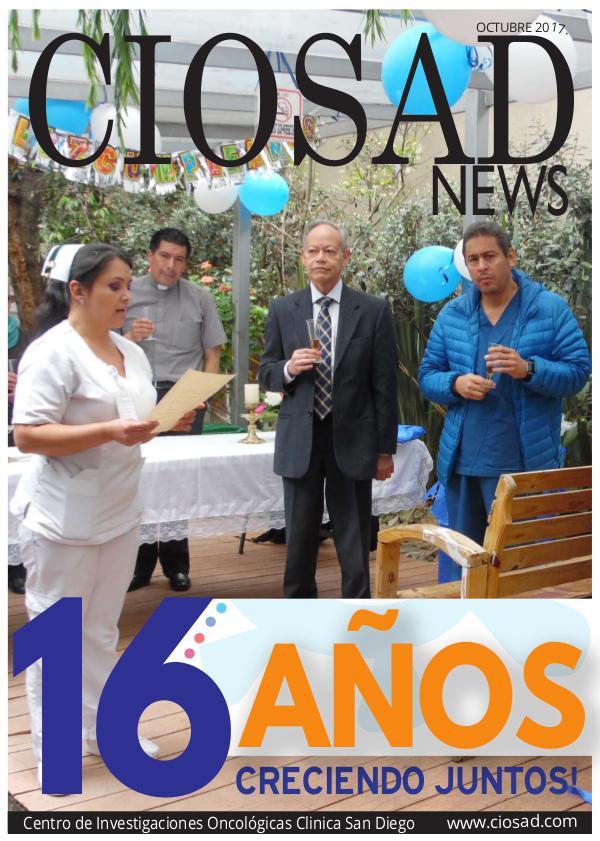 CIOSAD News - EDICIÓN OCTUBRE 2017