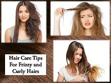 Hair Care Tips For Frizzy and Curly Hairs