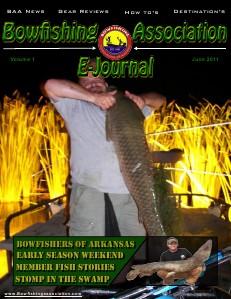 April issue BAA E-Journal Bowfishing Association E-Journal