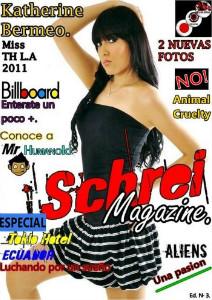 Schrei Magazine Ed. Nº 3.