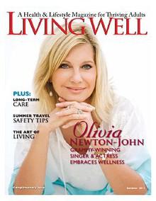 LIVING WELL Magazine summer cover story
