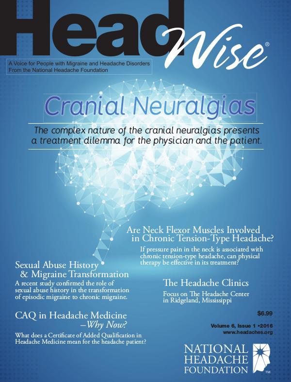 HeadWise: Volume 6, Issue