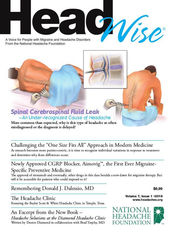 HeadWise: Volume 7, Issue 1