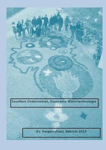 Excellent Ondernemen, Duurzame Watertechnologie juni 2013