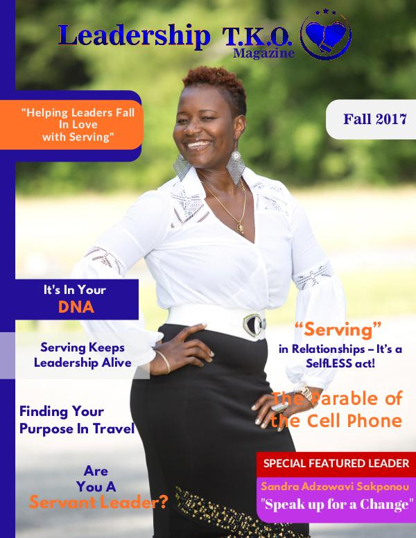 Leadership T.K.O.™ magazine Fall 2017