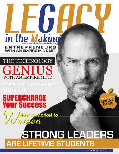 Leadership T.K.O.™ magazine Spring2016