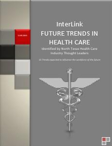 Future Trends Health Care 2013