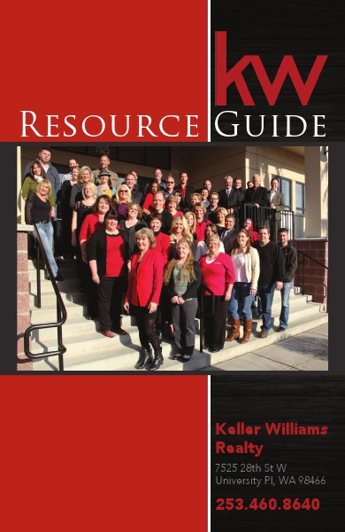 The Keller Williams Resource Guide Issue Volume 1 Issue 1