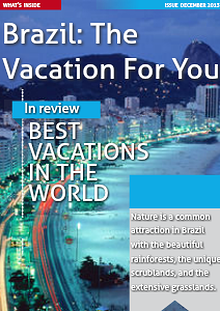Brazil: The Vacation For You