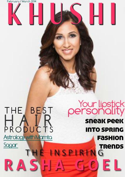 KHUSHI Magazine February / March 2014