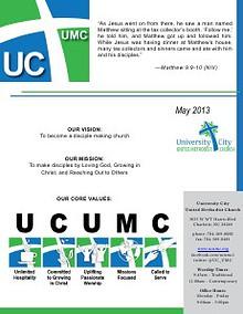 UCUMC Celebration Newsletter