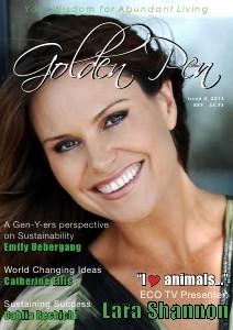 Golden Pen Magazine Sustainability - Issue 4, 2013