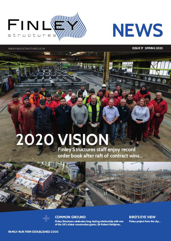 Finley Structures Newsletter Finley Structures Newsletter - Issue 17