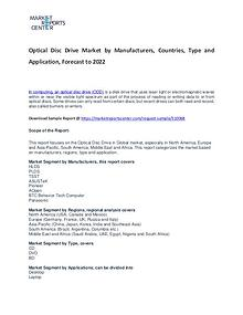 Optical Disc Drive Market 2017: Industry trends and Forecast Report