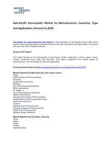 Asia-Pacific Atorvastatin Market Reports Analysis to 2022