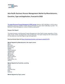 Asia-Pacific Business Process Management Market Reports Analysis
