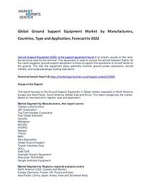 Ground Support Equipment Market Research Report Analysis to 2022