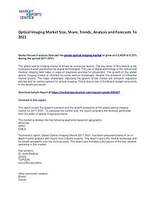 Optical Imaging Market Size, Share, Growth, Analysis and Forecasts