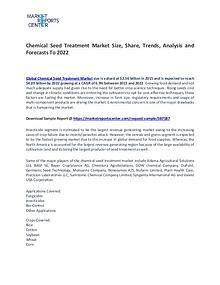 Chemical Seed Treatment Market Size, Share and Forecasts 2021