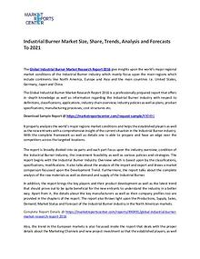 Industrial Burner Market Size, Share, Growth, Analysis and Forecasts
