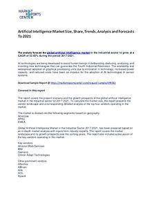 Artificial Intelligence Market Size, Share, Trends and Forecast