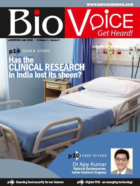 BioVoice News July 2016 Issue 3 Volume 1