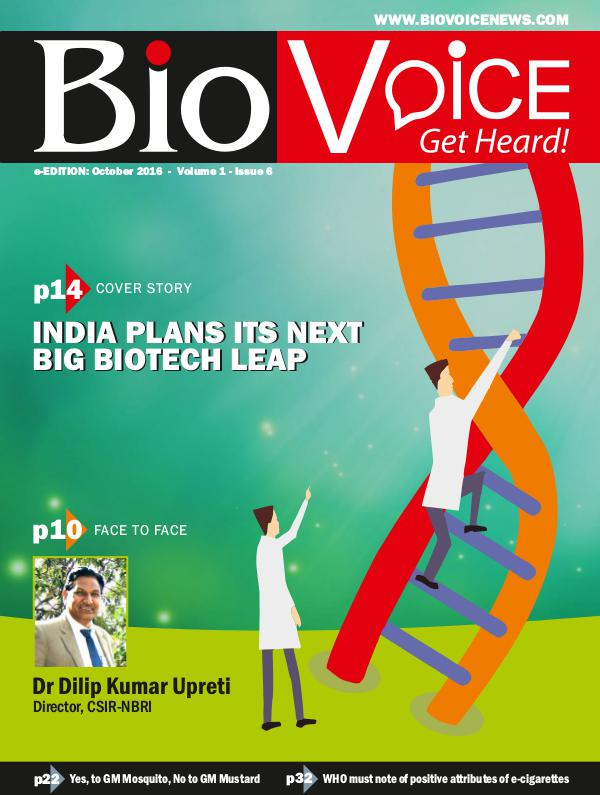BioVoice News October 2016 Issue 6 Volume 1