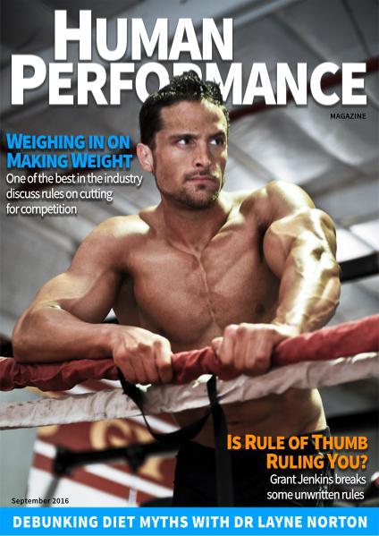 Human Performance Magazine September 2016