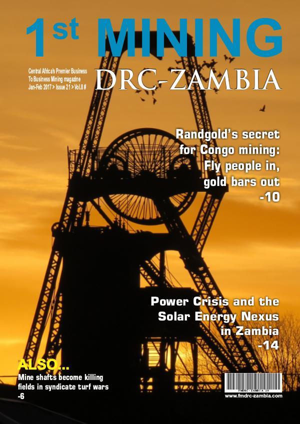 Fmdr-Zambia May/June 2016 Fmdrc-Zambia Jan/Feb 2017