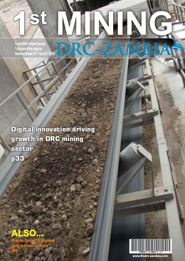 First Mining Drc-Zambia Sep/Oct 2017 FMDRC-Zambia Sep Oct