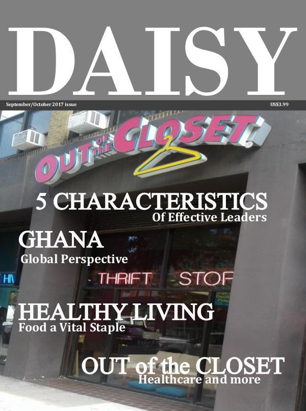 Daisy magazine September/October 2017