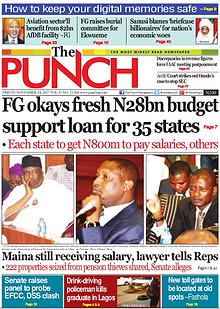 Epunchng - Most read newspaper in Nigeria