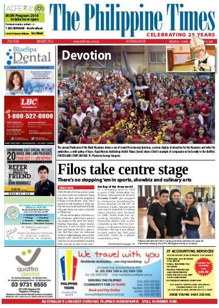 The Philippine Times January 2016