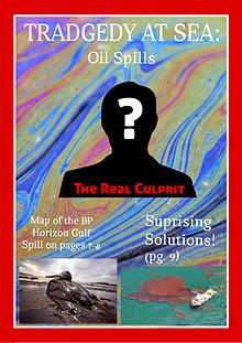 Oil in Sea