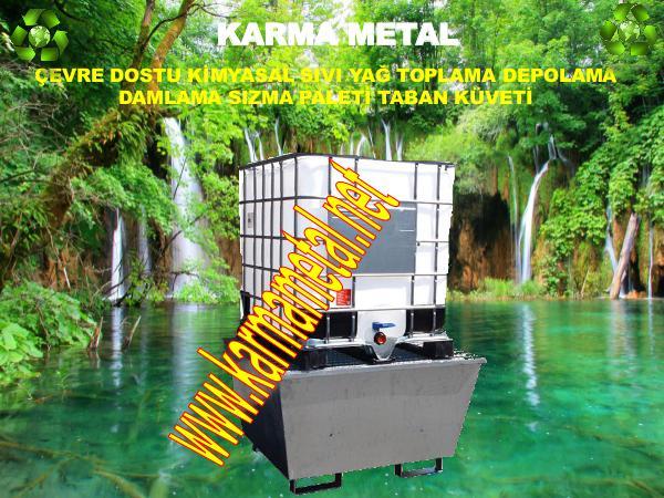 karma metal atik kimyasal yag taban kuveti cevre dostu tasma paleti cevre dostu urunler imalati