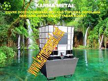 karma metal atik kimyasal yag taban kuveti cevre dostu tasma paleti
