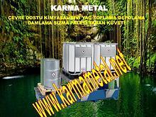 KARMA METAL istiflenebilir sivi kimyasal atik toplama kuveti