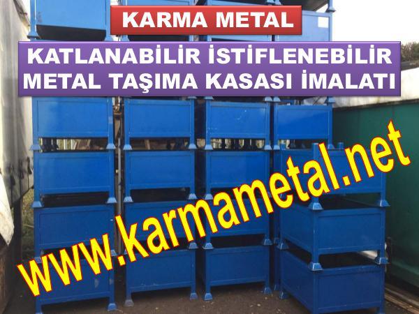 KARMA METAL metal tasima sevkiyat kasasi cesitleri imalati Metal Kasalar
