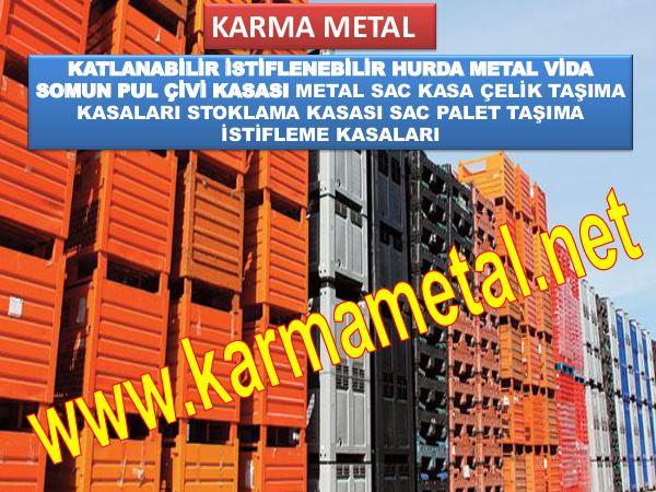 KARMA METAL-metal tasima kasasi parca toplama kasalari fiyati METAL TASİMA KASASI