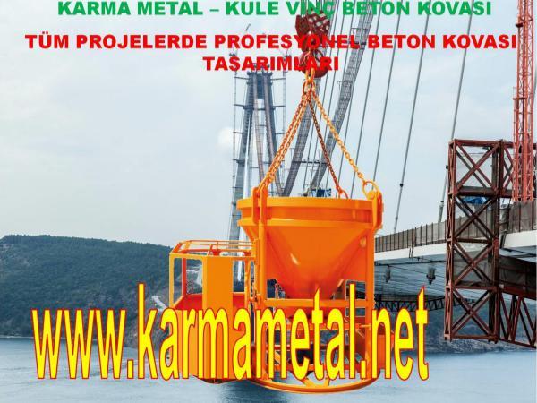 KARMA METAL-Moloz micir harc kazani kule vinc beton kovasi fiyati beton kova secenekleri