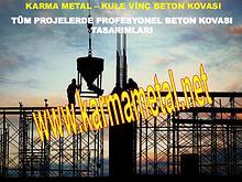 KARMA METAL-kule vinc beton harc moloz kovasi teknik ozellikleri