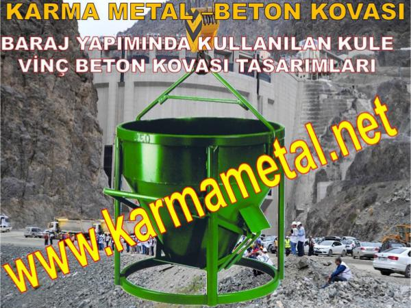 Baraj Kopru Viyaduk Otoyol santiye insaat yapimi beton kovasi Baraj Kopru Viyaduk Otoyol beton kovasi
