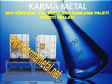 karma metal kimyasal atik dokuntu damlama depolama toplama havuzu