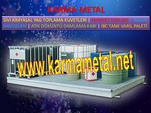 Karma Metal sivi kimyasal yag damlama paleti taban kuveti