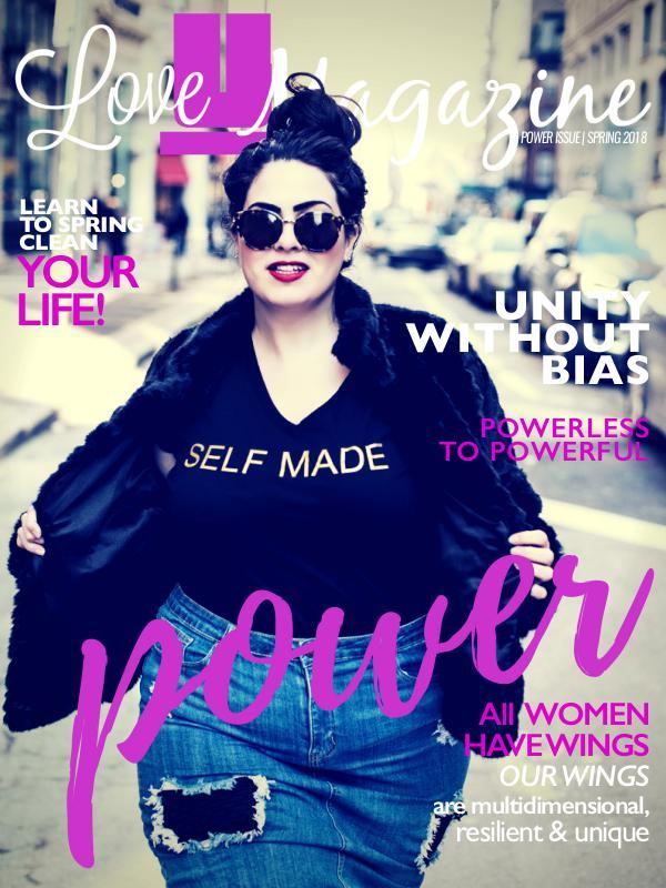 Love U Magazine Power Issue, Spring 2018