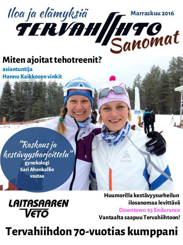 Tervahiihto Sanomat Marraskuu 2016