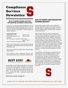 2013-2014 Stanford CS Newsletter