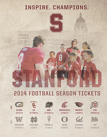 2014 Stanford Football Season Ticket Holder Booklet