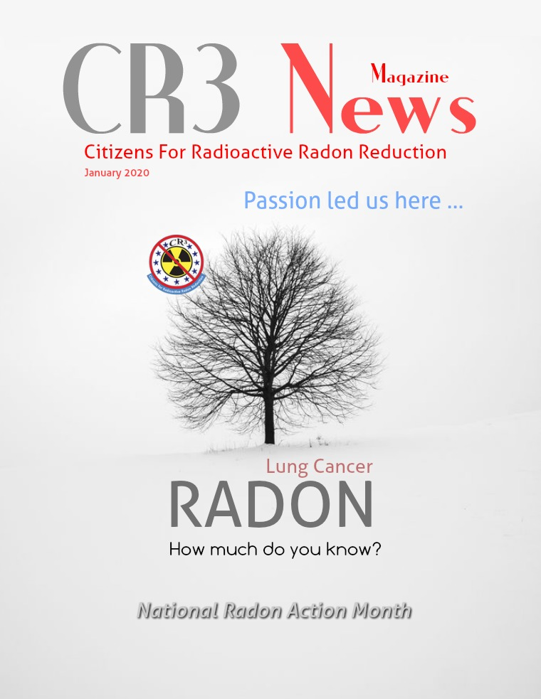 2020 VOL 1: JANUARY National Radon Action Month