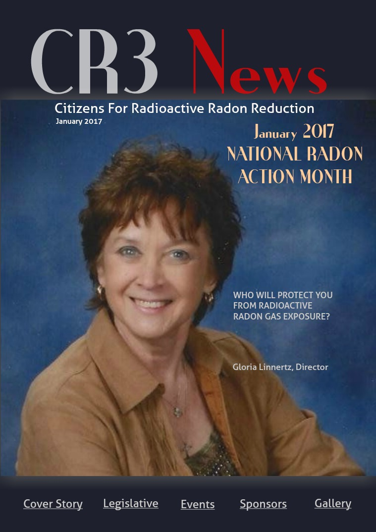 CR3 News Magazine 2017 VOL 1: January National Radon Action Month